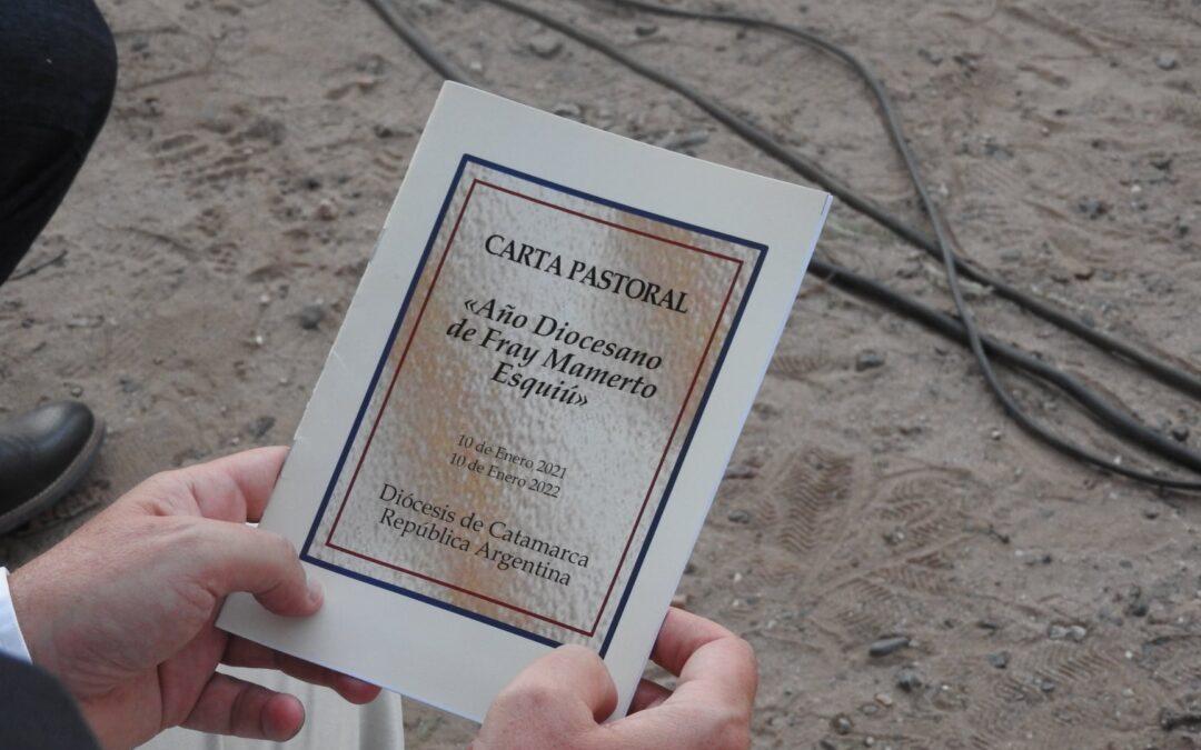Carta Pastoral en el Año de Fray Mamerto Esquiú