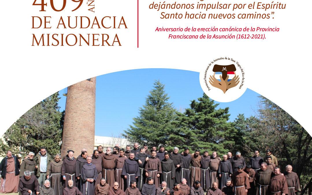 A los 409 años de la Provincia Franciscana, emociona y conmueve hasta las lágrimas la fe de Esquiú